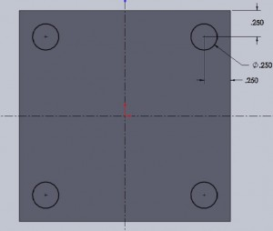 how to cut through in solidworks