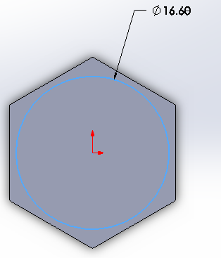 how to draw a hex in solidworks