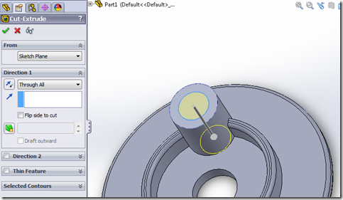 how to change solidworks part sideways